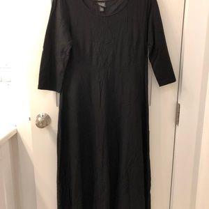 Eileen Fisher Black Long Dress